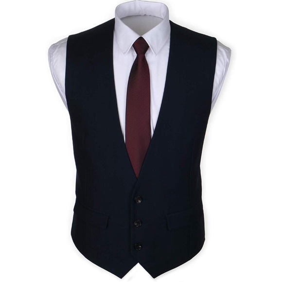 Other - NEW✨ Men's Dark Navy Blue Vest